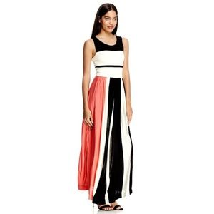 French Connection Medina Stripe Maxi Dress